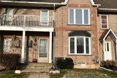 Townhouse for rent at 22 Sunvale Pl Hamilton Ontario - MLS: X4666529