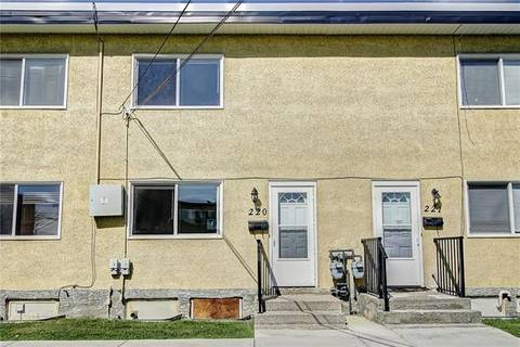 Townhouse for sale at 2211 19 St Northeast Unit 220 Calgary Alberta - MLS: C4252982