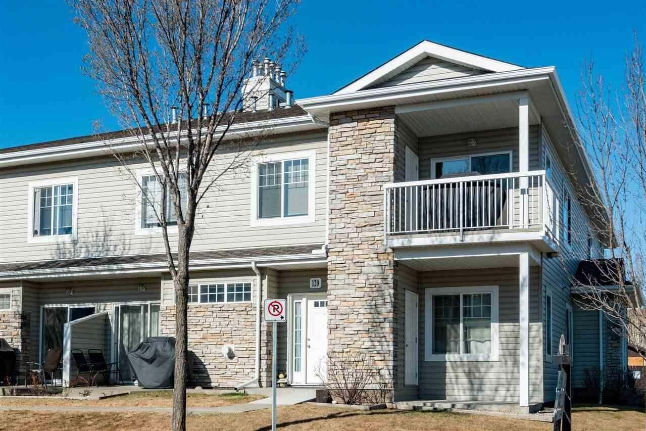Townhouse for sale at 460 Cranberry Wy Unit 220 Sherwood Park Alberta - MLS: E4216346