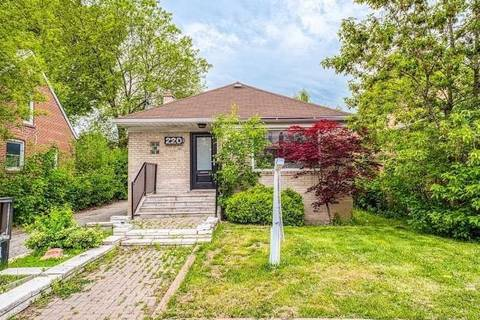 House for sale at 220 Finch Ave Toronto Ontario - MLS: C4529948