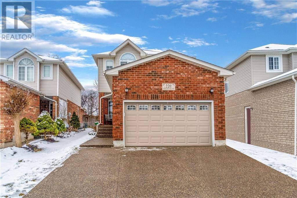 House for sale at 220 Gatehouse Dr Cambridge Ontario - MLS: 30797840
