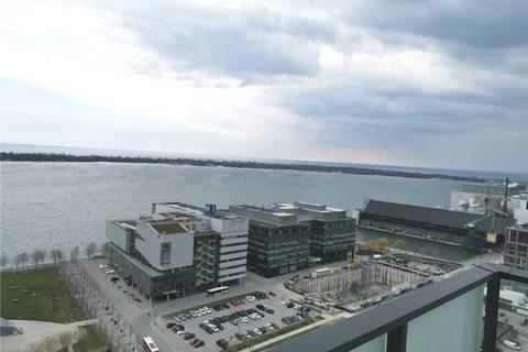 Apartment for rent at 16 Bonnycastle St Unit 2201 Toronto Ontario - MLS: C4442633