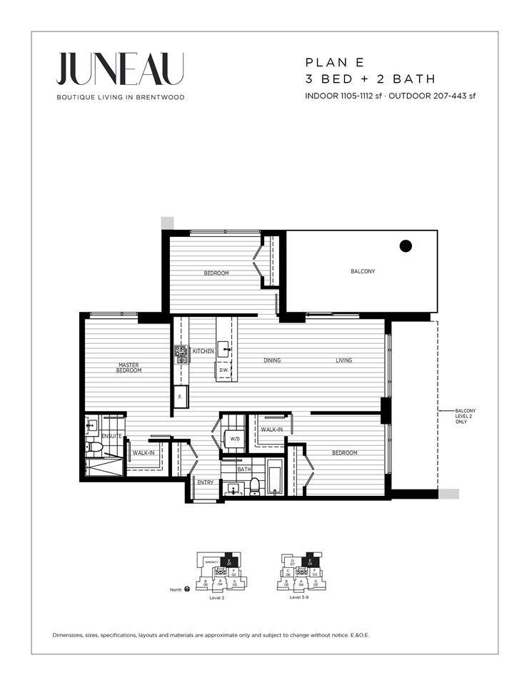 For Sale: 2202 - 4465 Juneau Street, Burnaby, BC | 3 Bed, 2 Bath Condo for $1,849,900. See 10 photos!