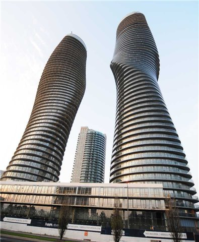 For Rent: 2203 - 50 Absolute Avenue, Mississauga, ON | 2 Bed, 1 Bath Condo for $1,900. See 8 photos!
