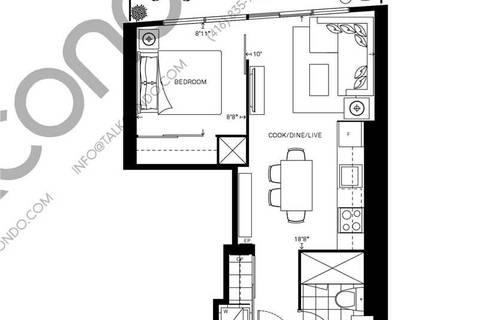 Apartment for rent at 89 Mcgill St Unit 2203 Toronto Ontario - MLS: C4524421
