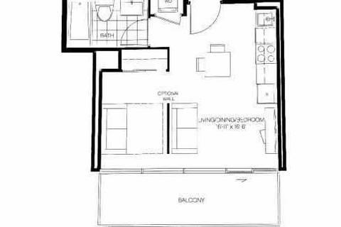 Apartment for rent at 50 Charles St Unit 2204 Toronto Ontario - MLS: C4676898