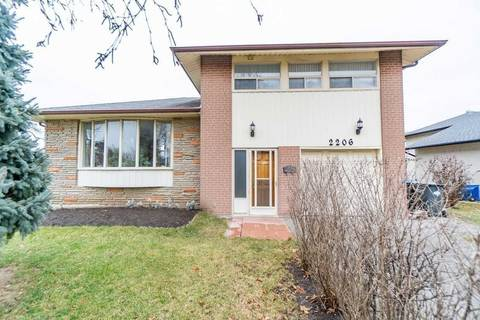 House for sale at 2206 Truscott Dr Mississauga Ontario - MLS: W4607215