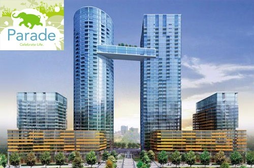 Concord Cityplace - Parade Condos: 21 Iceboat Terrace, Toronto, ON