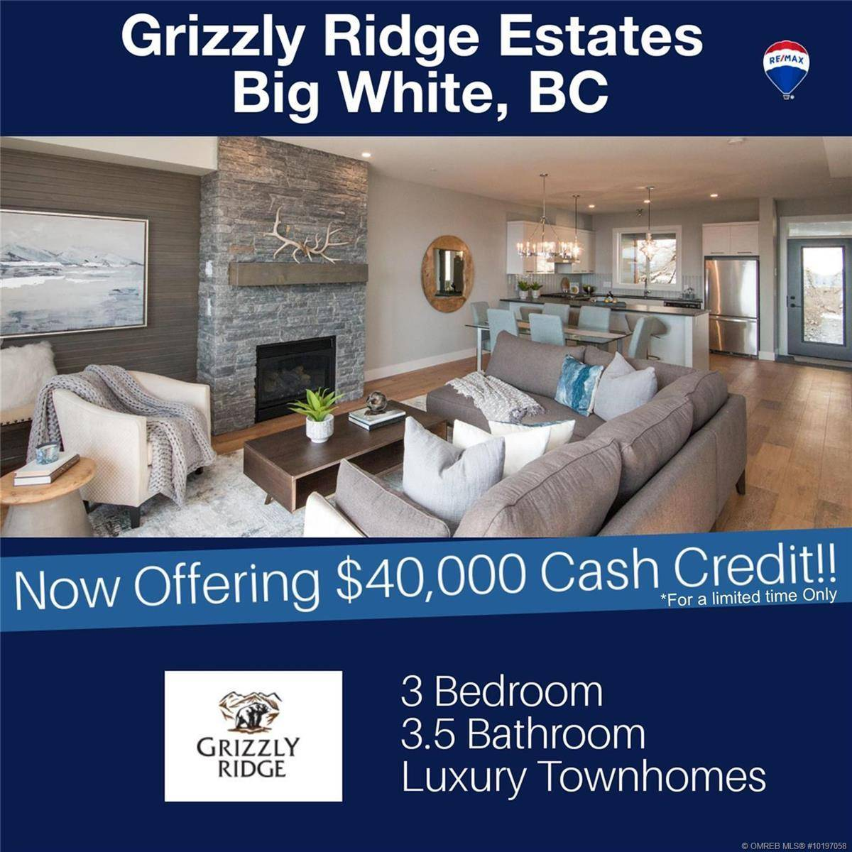 Townhouse for sale at 220 Grizzly Ridge Tr Big White British Columbia - MLS: 10197058