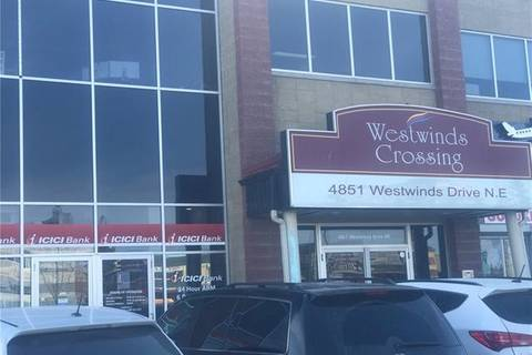Commercial property for lease at 4851 Westwinds Dr Northeast Apartment 221 Calgary Alberta - MLS: C4288466