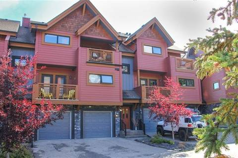Townhouse for sale at 80 Dyrgas Gt Unit 221 Canmore Alberta - MLS: C4238377