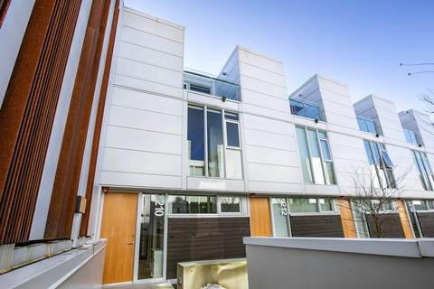 Townhouse for sale at 2210 Willow St Vancouver British Columbia - MLS: R2388337