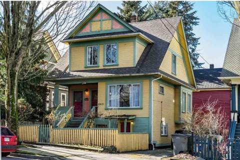 House for sale at 2213 Ontario St Vancouver British Columbia - MLS: R2380023