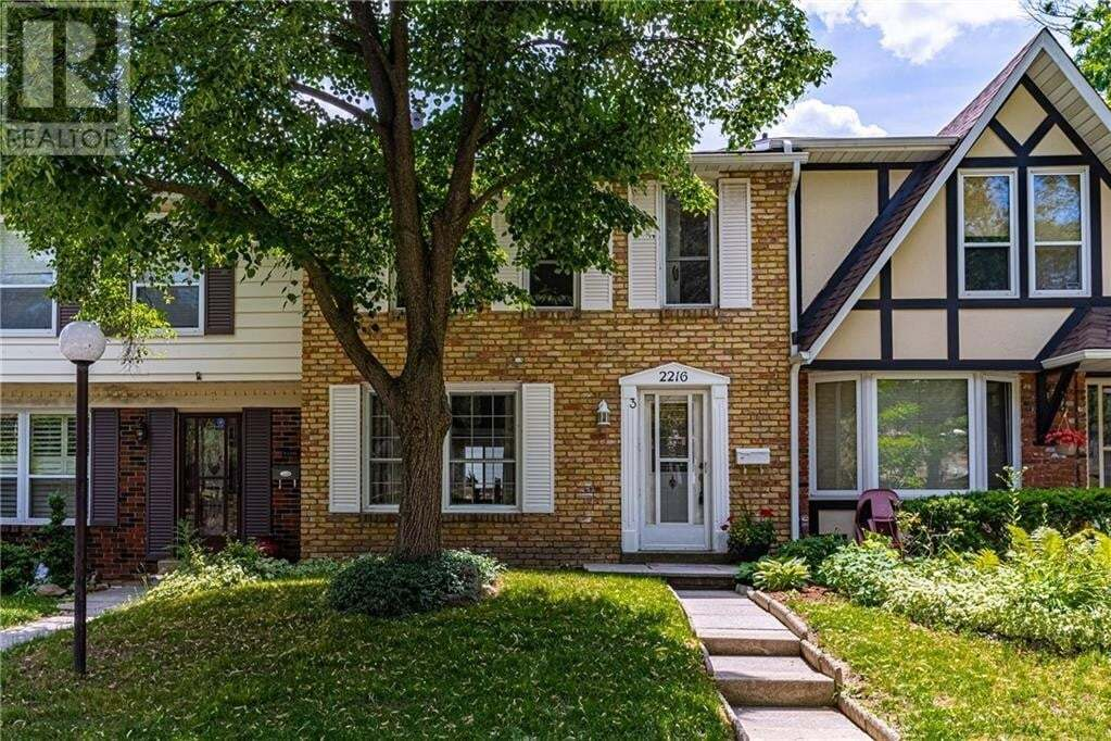 Townhouse for sale at 2216 Upper Middle Rd Burlington Ontario - MLS: 30818678