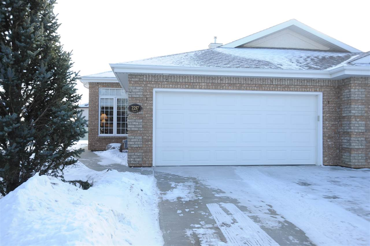 For Sale: 2217 Leger Court, Edmonton, AB | 2 Bed, 3 Bath Townhouse for $529,000. See 29 photos!