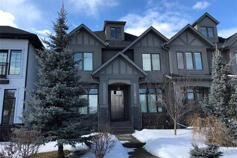 Townhouse for sale at 2219 24a St Southwest Calgary Alberta - MLS: C4233023