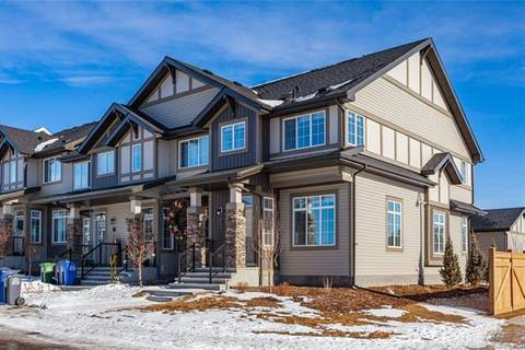 Townhouse for sale at 222 Clydesdale Ave Cochrane Alberta - MLS: C4292172