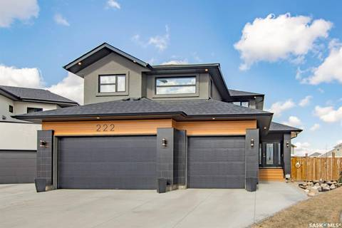 House for sale at 222 Glacial Shores Cove Saskatoon Saskatchewan - MLS: SK807970