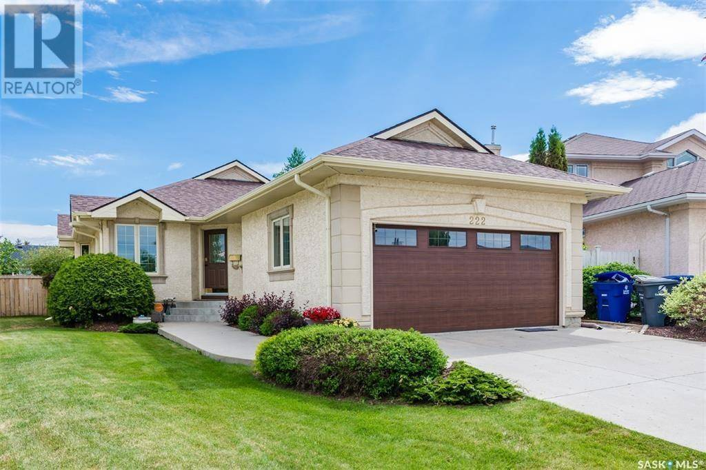 House for sale at 222 Morrison Ct Saskatoon Saskatchewan - MLS: SK778363