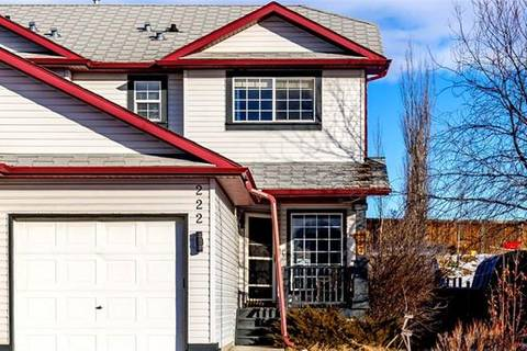 Townhouse for sale at 222 Quigley Dr Cochrane Alberta - MLS: C4280876