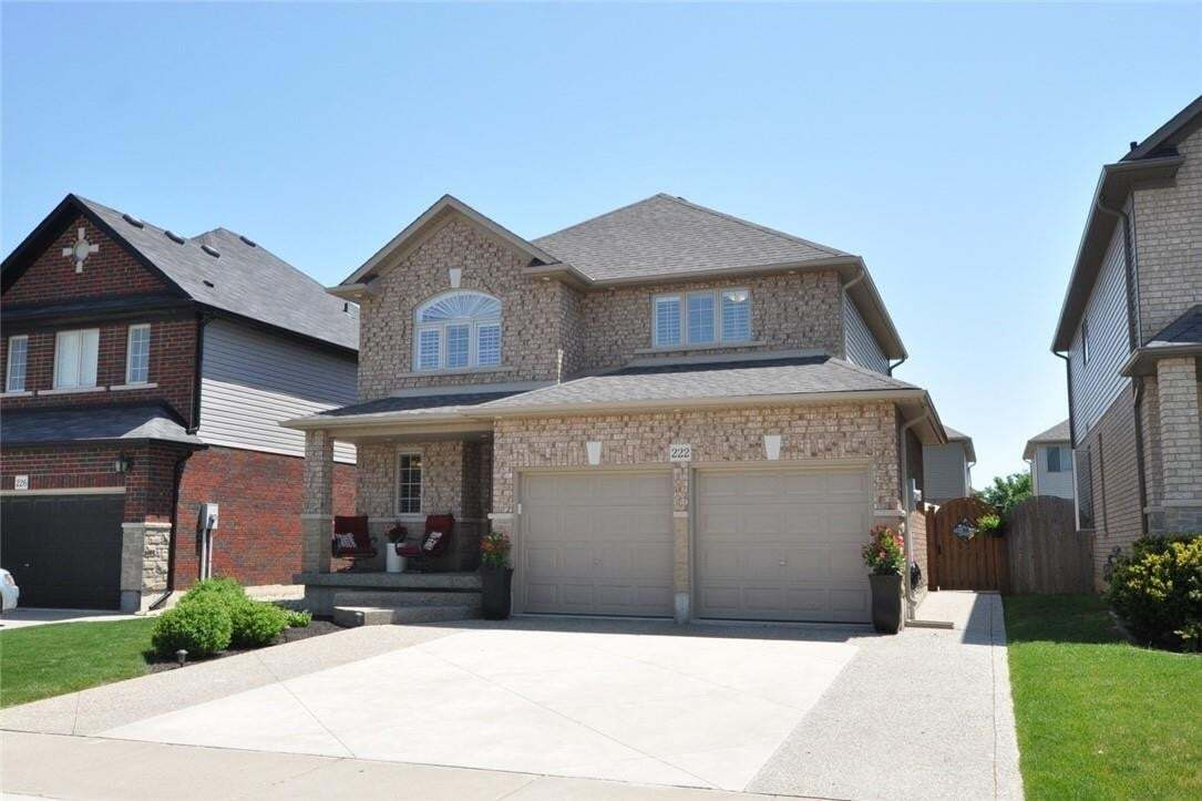 House for sale at 222 Tanglewood Dr Binbrook Ontario - MLS: H4078568