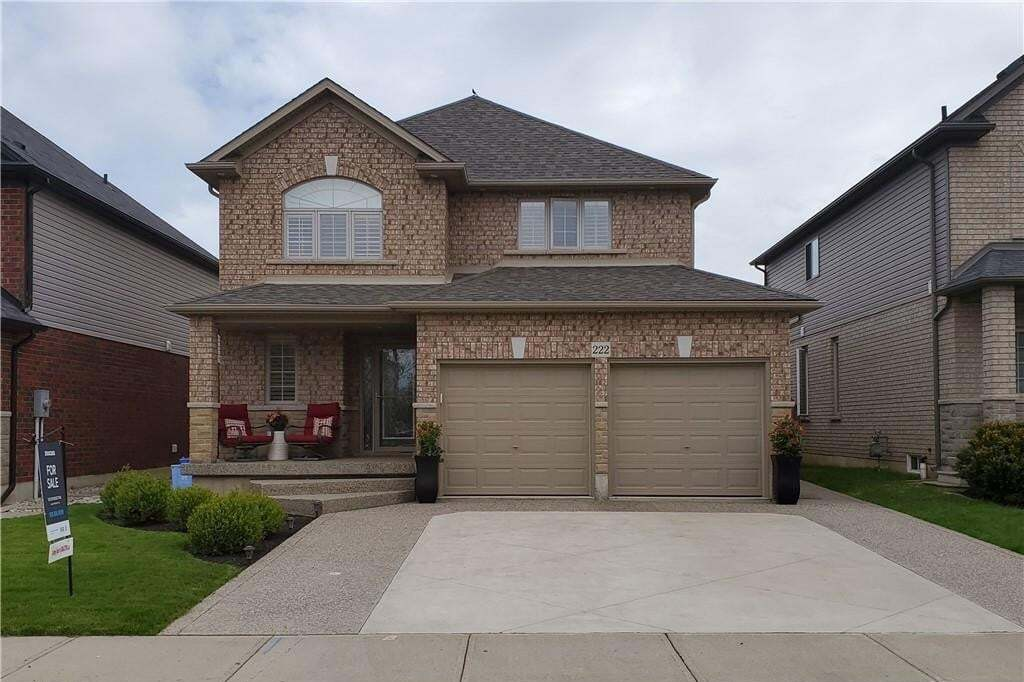 House for sale at 222 Tanglewood Dr Hamilton Ontario - MLS: H4078568