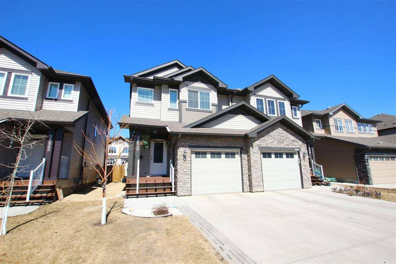 Townhouse for sale at 2220 22 Ave Nw Edmonton Alberta - MLS: E4194678