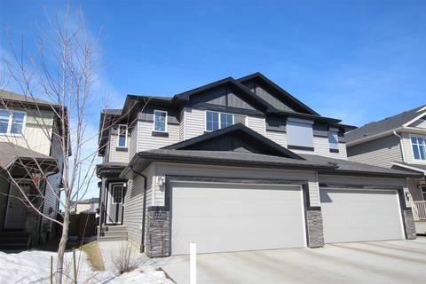 Townhouse for sale at 2220 Casey Cres Sw Edmonton Alberta - MLS: E4147797