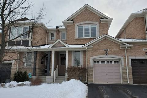 Townhouse for sale at 2220 Whitworth Dr Oakville Ontario - MLS: W4676161