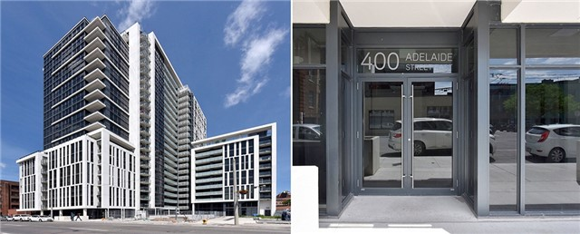 For Rent: 2222 - 400 Adelaide Street, Toronto, ON   2 Bed, 2 Bath Condo for $2,900. See 17 photos!