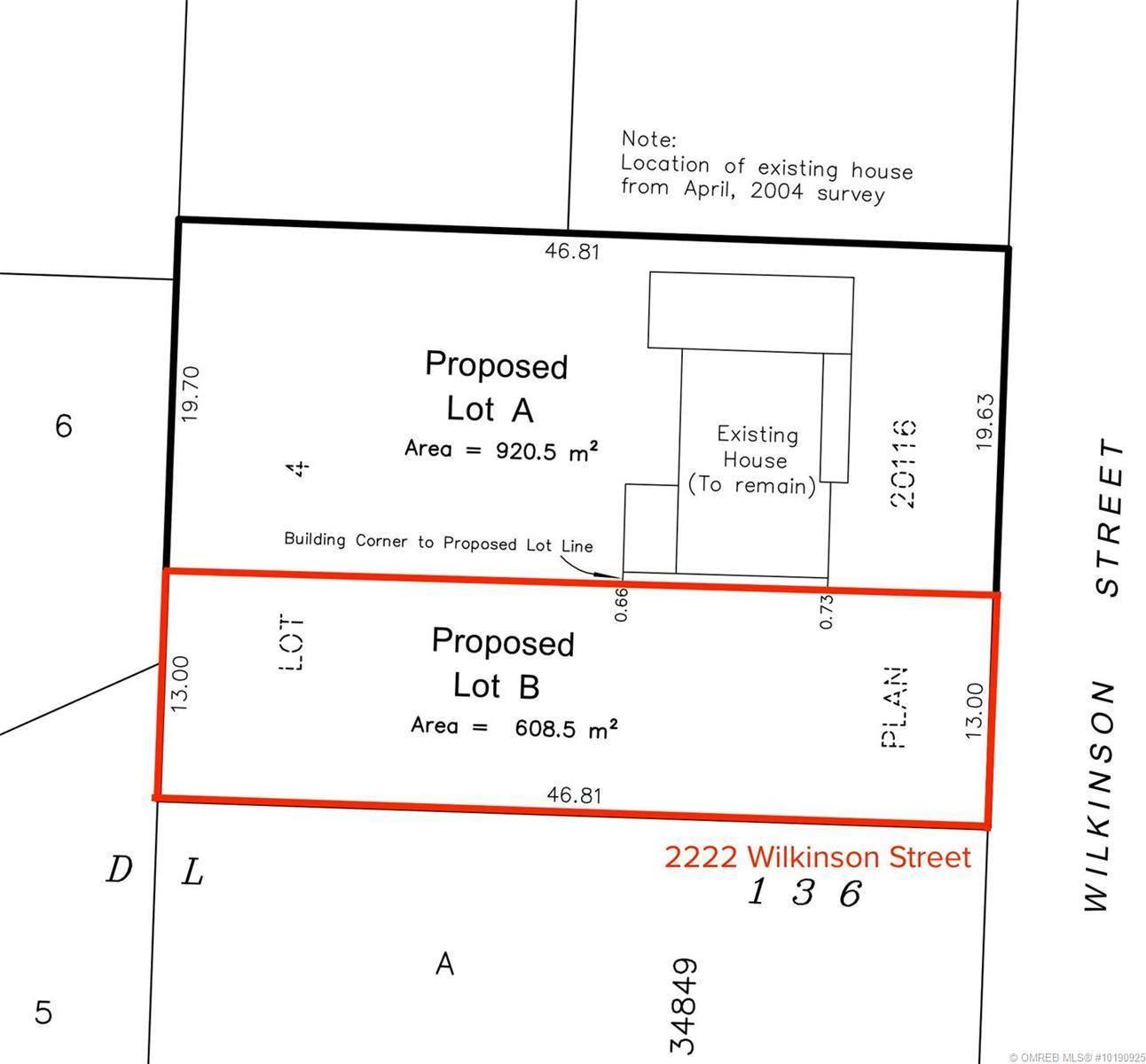 Home for sale at 2222 Wilkinson St Kelowna British Columbia - MLS: 10190925