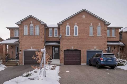 Townhouse for sale at 2226 Pell Cres Oakville Ontario - MLS: W4692481