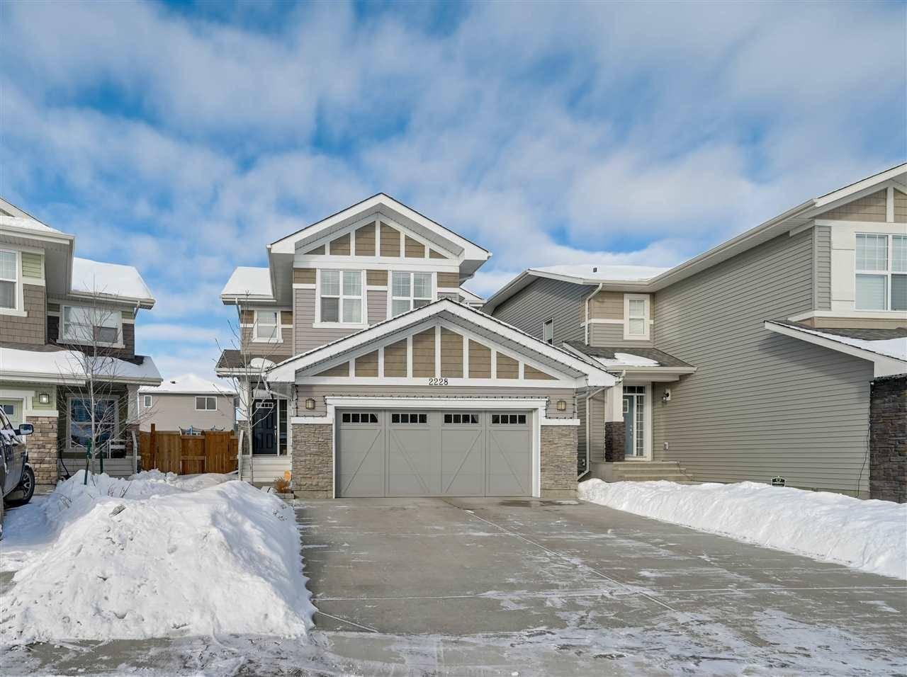 House for sale at 2228 Calhoun Li Sw Edmonton Alberta - MLS: E4186269