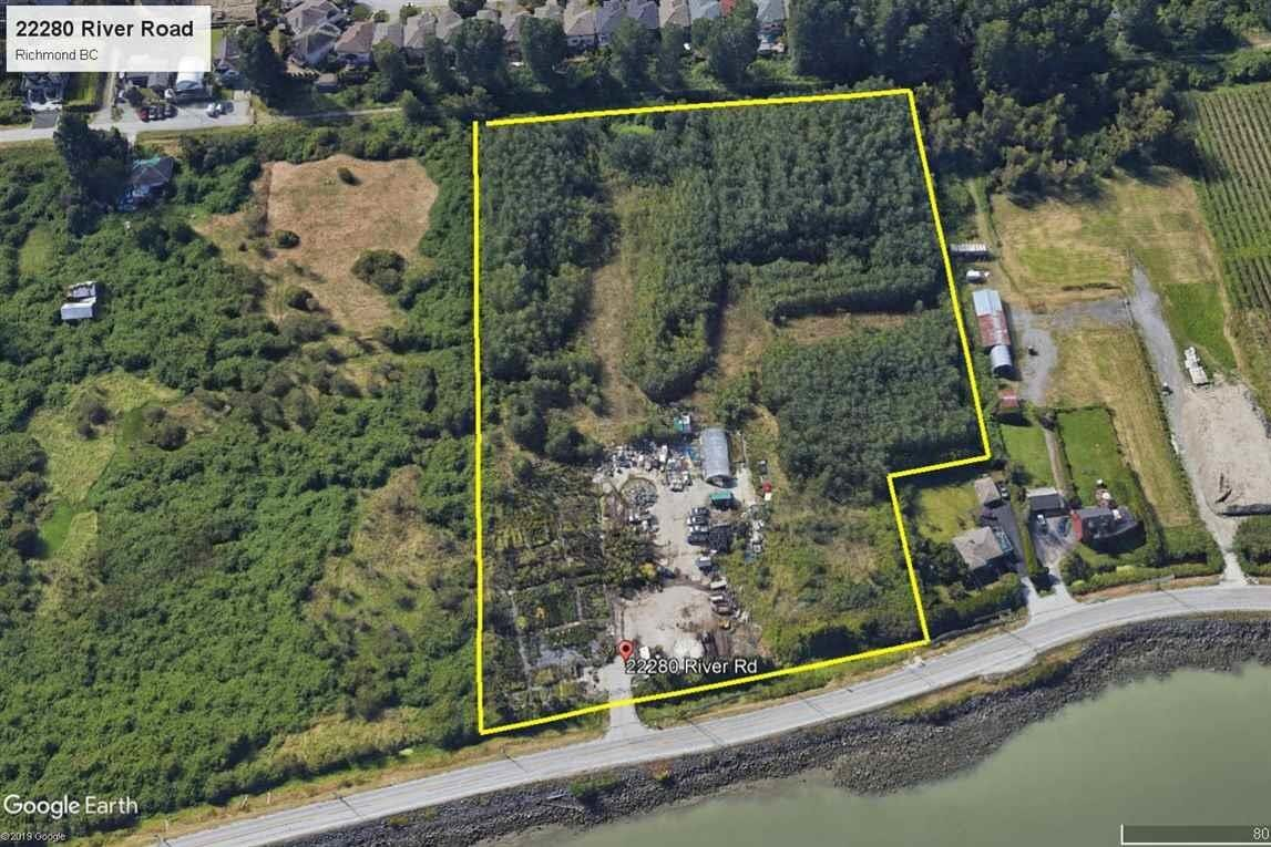 Home for sale at 22280 River Rd Richmond British Columbia - MLS: R2433721