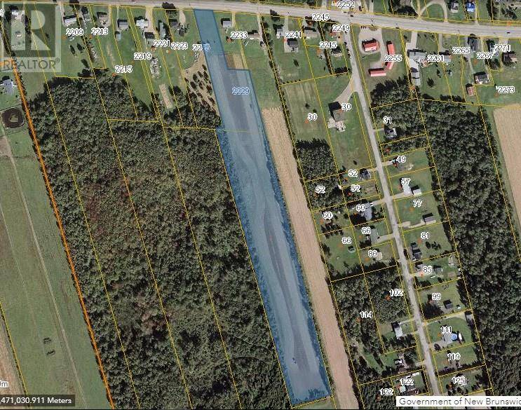 Residential property for sale at 2229 Acadie  Cap Pele New Brunswick - MLS: M125202