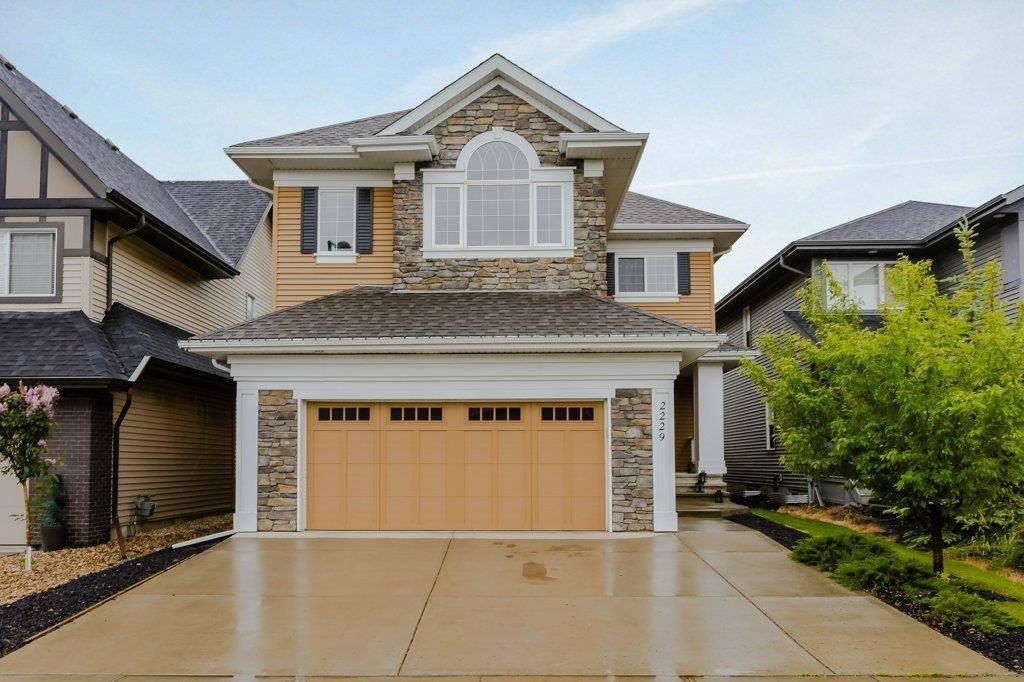 House for sale at 2229 Cameron Ravine Ct Nw Edmonton Alberta - MLS: E4163454