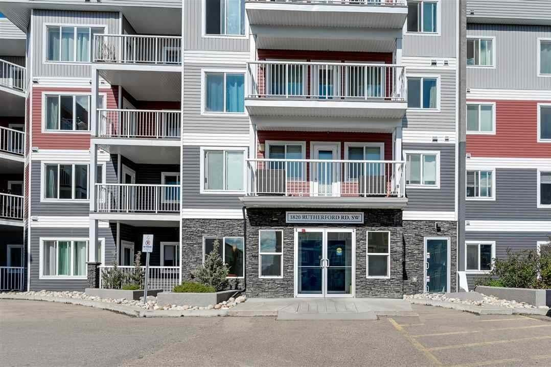Condo for sale at 1820 Rutherford Rd SW Unit 223 Edmonton Alberta - MLS: E4212060