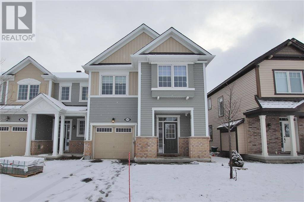 Townhouse for sale at 223 Conifer Creek Circ Ottawa Ontario - MLS: 1177149