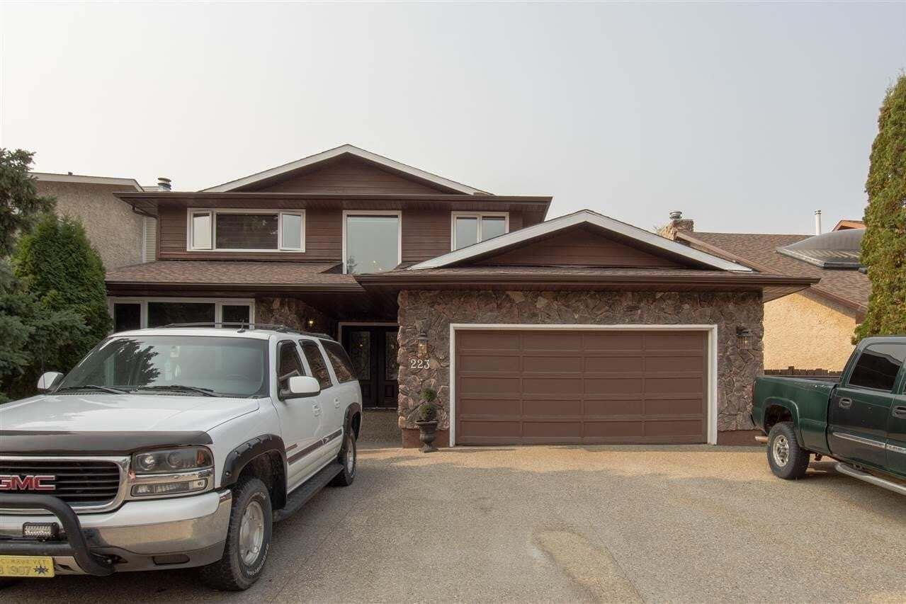 House for sale at 223 Gariepy Cr NW Edmonton Alberta - MLS: E4215702