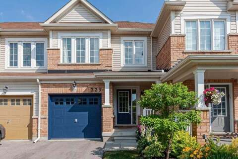 Townhouse for sale at 223 Orr Dr Bradford West Gwillimbury Ontario - MLS: N4821549