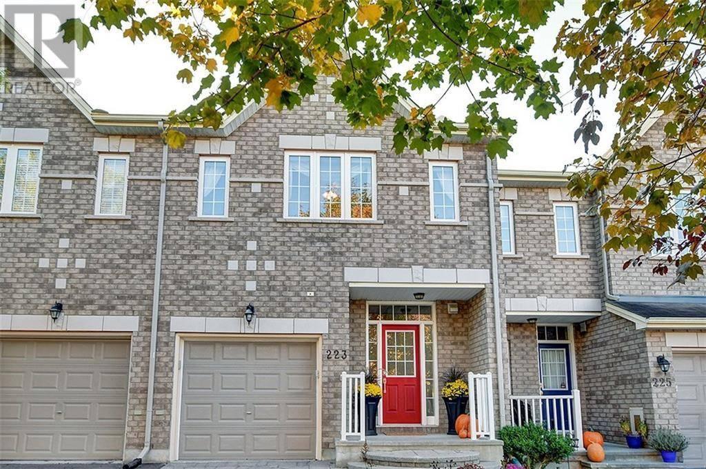 Townhouse for sale at 223 Saddlesmith Circ Ottawa Ontario - MLS: 1172343