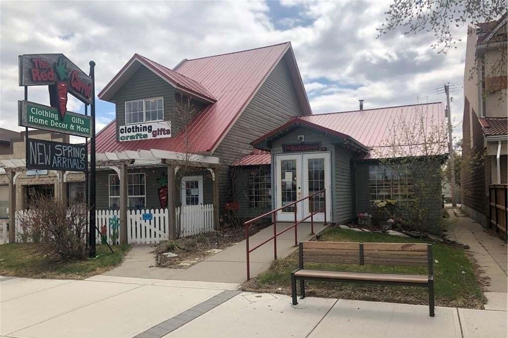 Commercial property for sale at 223 Third Av Downtown_strathmore, Strathmore Alberta - MLS: C4296055