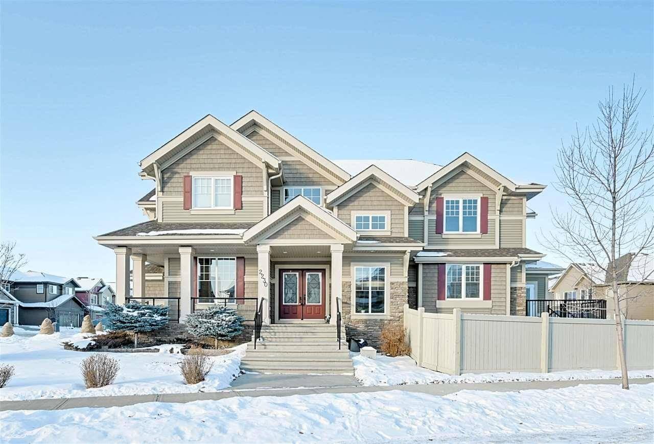 House for sale at 2230 Cameron Ravine Ct Nw Edmonton Alberta - MLS: E4183846