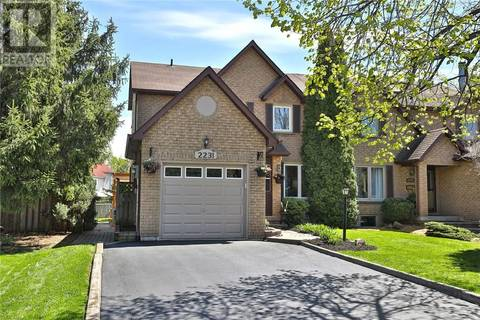 House for sale at 2231 Maclennan Dr Oakville Ontario - MLS: 30736129