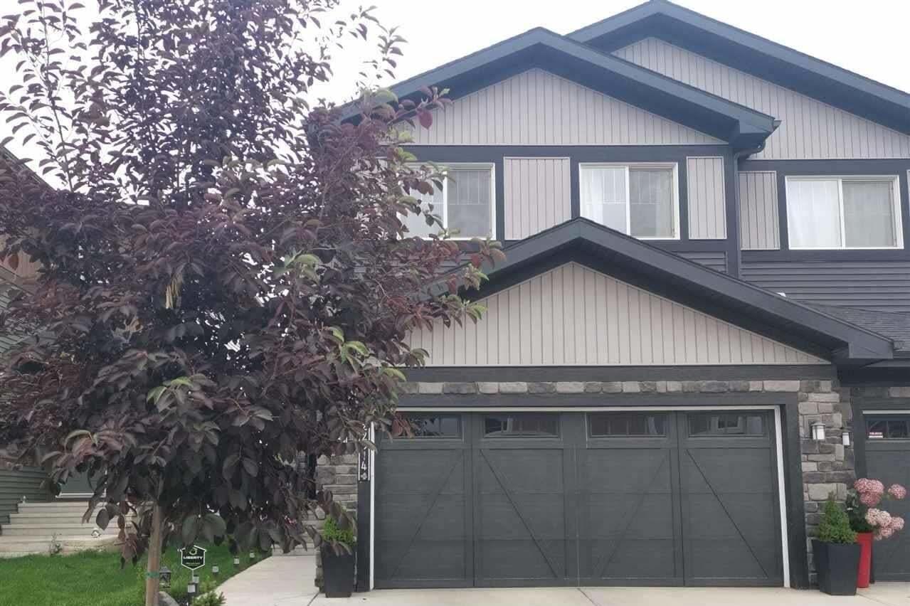 Townhouse for sale at 22314 82 Av NW Edmonton Alberta - MLS: E4215317