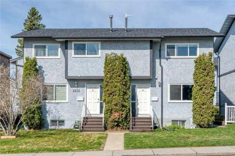 Townhouse for sale at 2233 29 St Southwest Calgary Alberta - MLS: C4305621