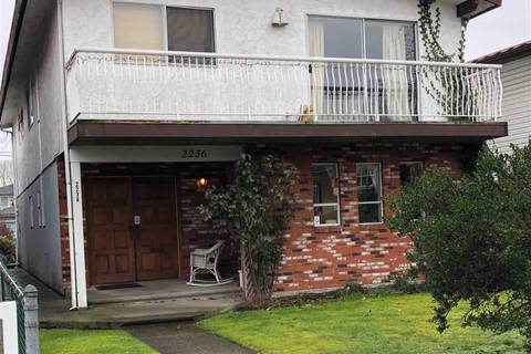 House for sale at 2236 34th Ave E Vancouver British Columbia - MLS: R2366460