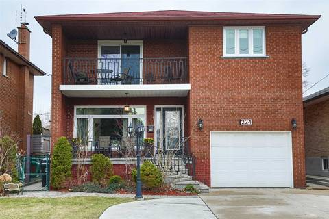 House for rent at 224 Falstaff Ave Toronto Ontario - MLS: W4414824
