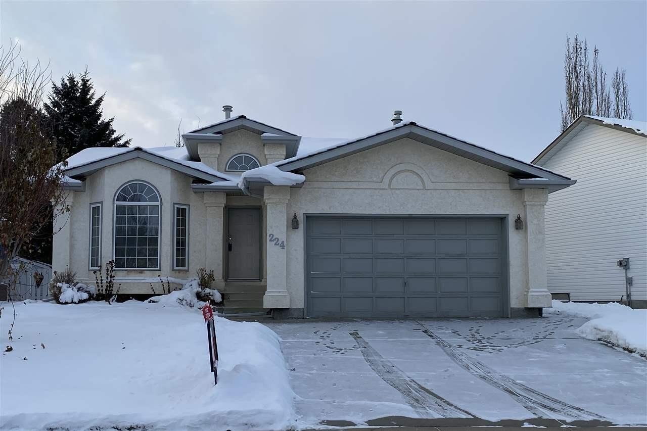 House for sale at 224 Parkallen Wy Wetaskiwin Alberta - MLS: E4216785