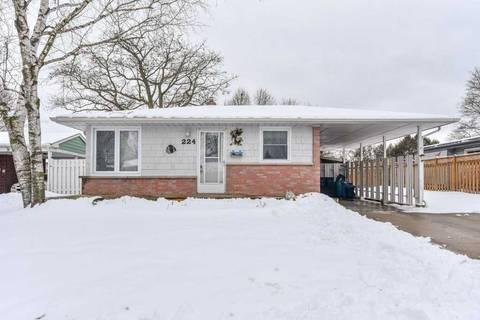 House for sale at 224 Winston Blvd Cambridge Ontario - MLS: X4690686